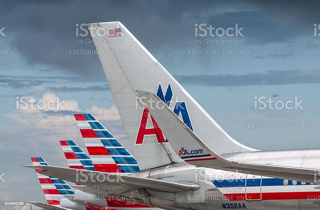 Nova American Airlines - foto de acervo