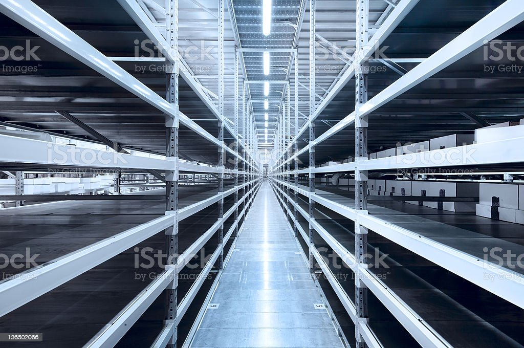 New and modern warehouse stock photo