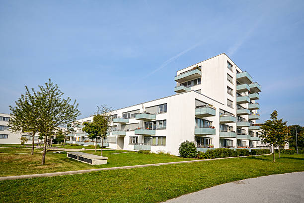 New apartment building - modern residential development – Foto