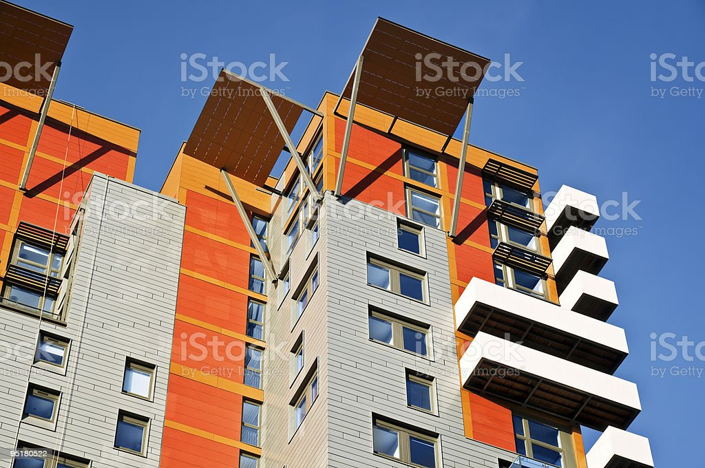 New apartment building royalty-free stock photo