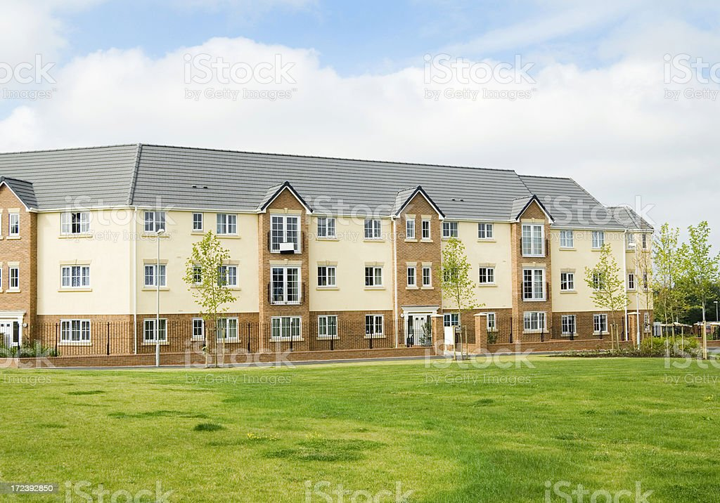 New Apartment Development, England royalty-free stock photo