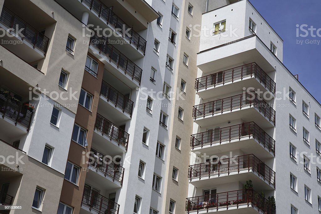 New Apartment House royalty-free stock photo
