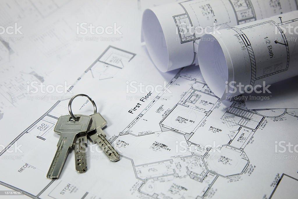 new apartment keys royalty-free stock photo