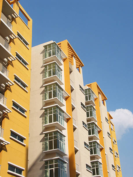 New Apartments Hyderabad, India stock photo