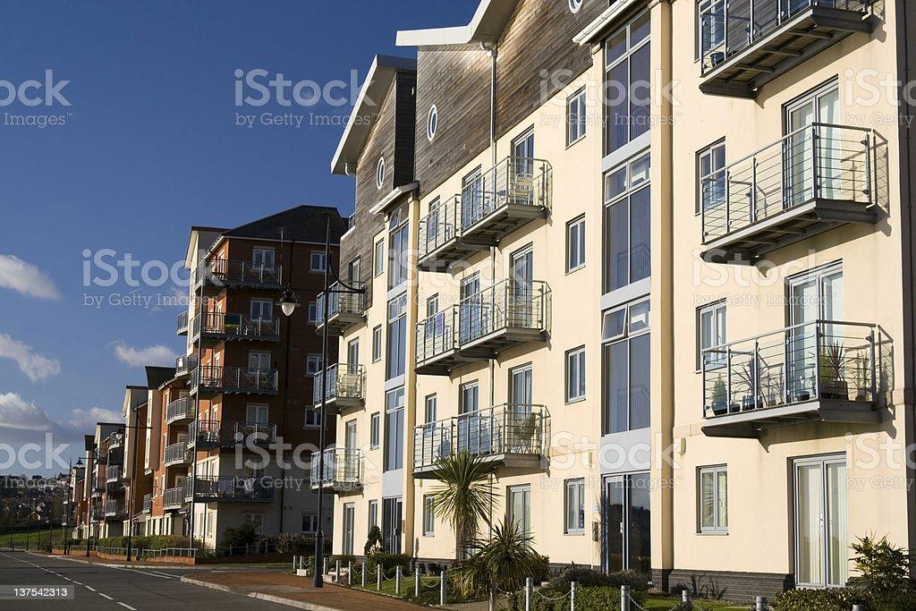New apartments royalty-free stock photo