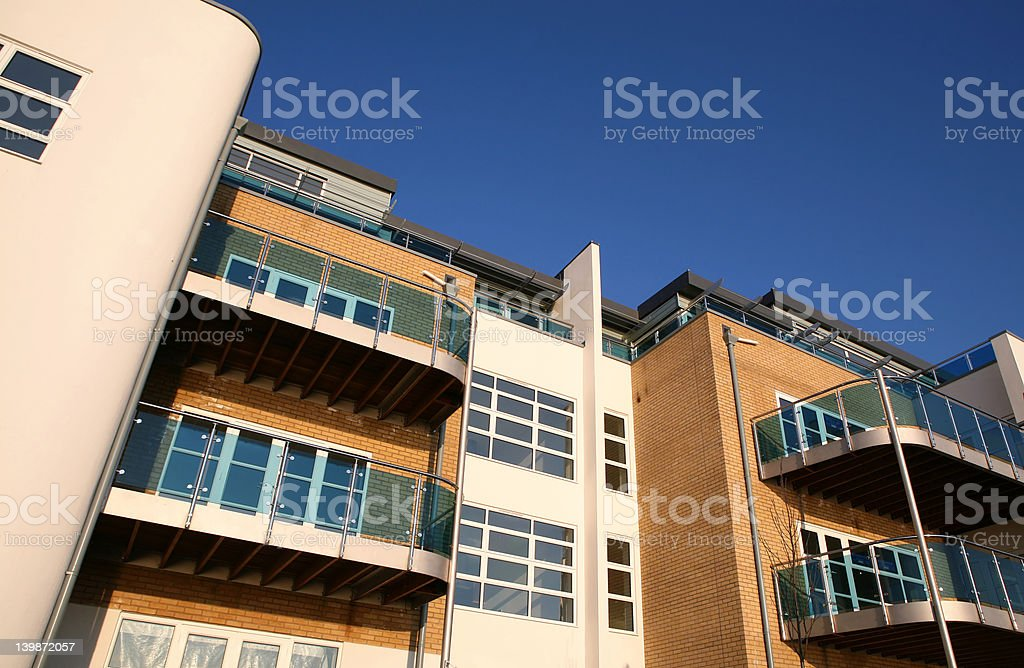 New Apartments royalty-free stock photo