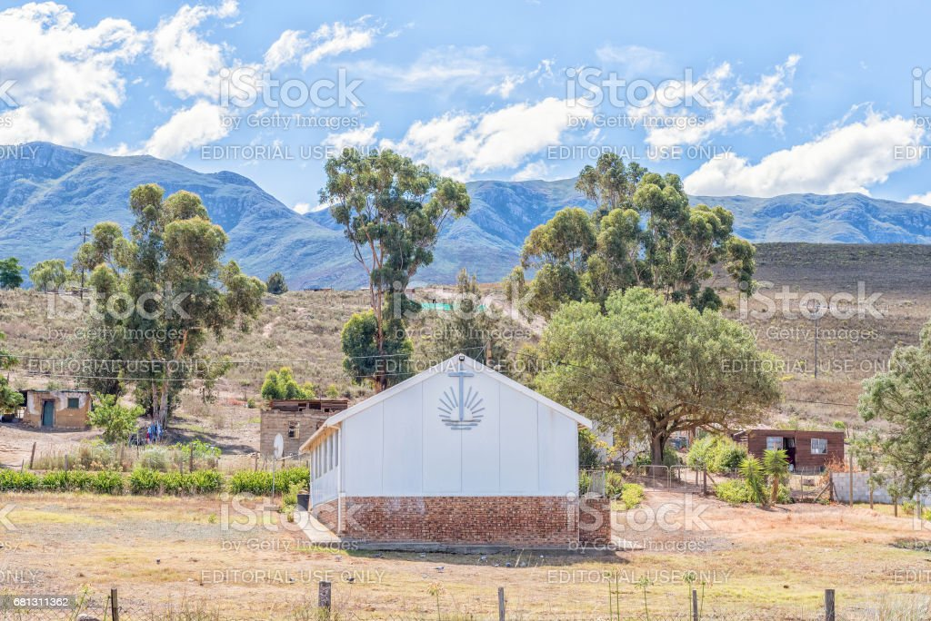 New Apostolic Church In Bereaville Stock Photo - Download Image Now