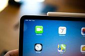 新しいアップル社のコンピューター iPad Pro タブレット Apple 鉛筆