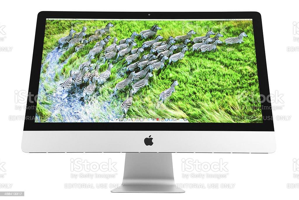 New Apple iMac royalty-free stock photo