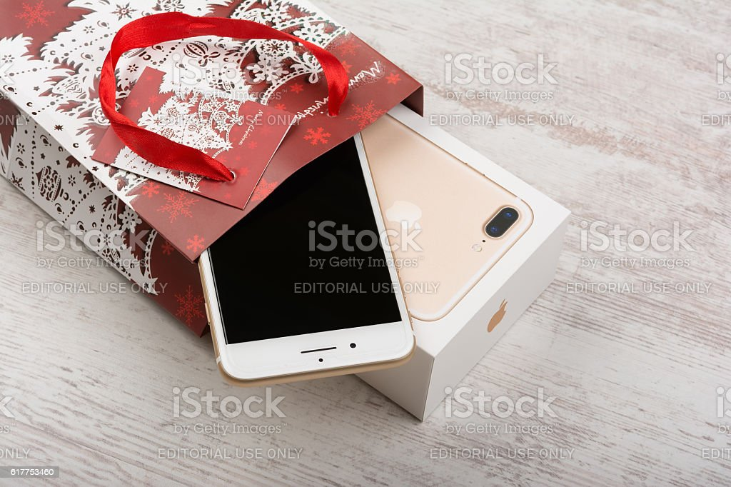 Apple christmas gift