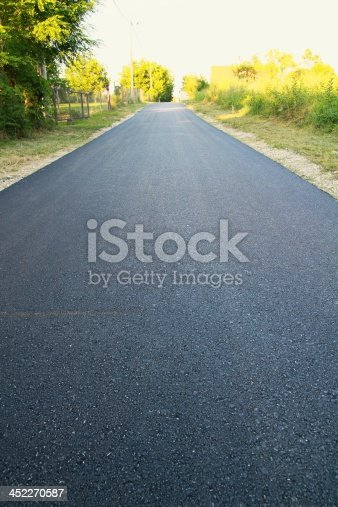 istock New asphalt in colony 452270587
