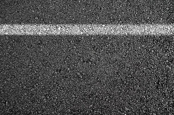 New asphalt stock photo