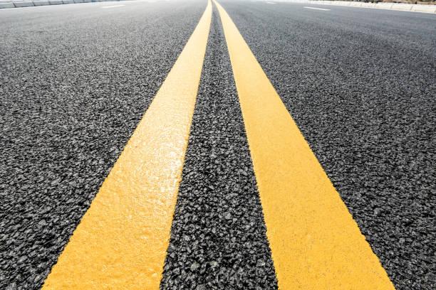 Nouveau fond de texture route asphalte - Photo