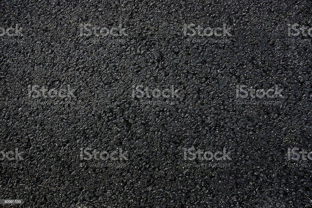 New Asphalt Texture royalty-free stock photo