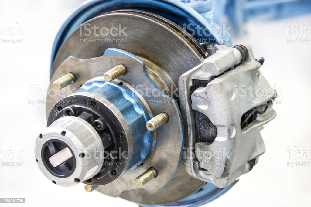 New auto parts for cars stock photo