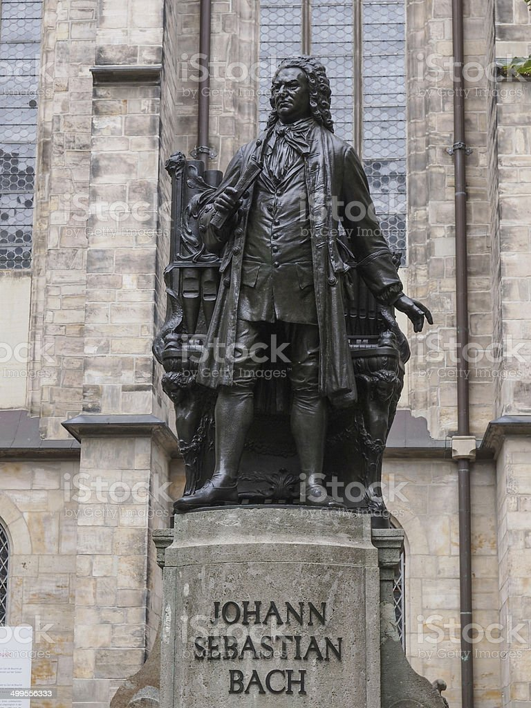 Neues Bach Denkmal stock photo