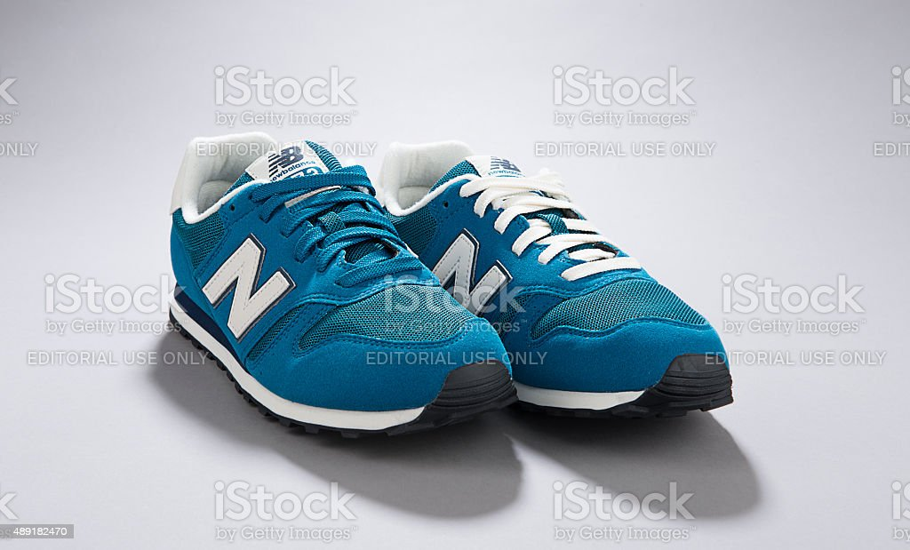 New Balance with Different Shoelaces