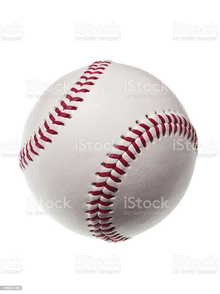 new baseball isolated on white background royalty-free stock photo