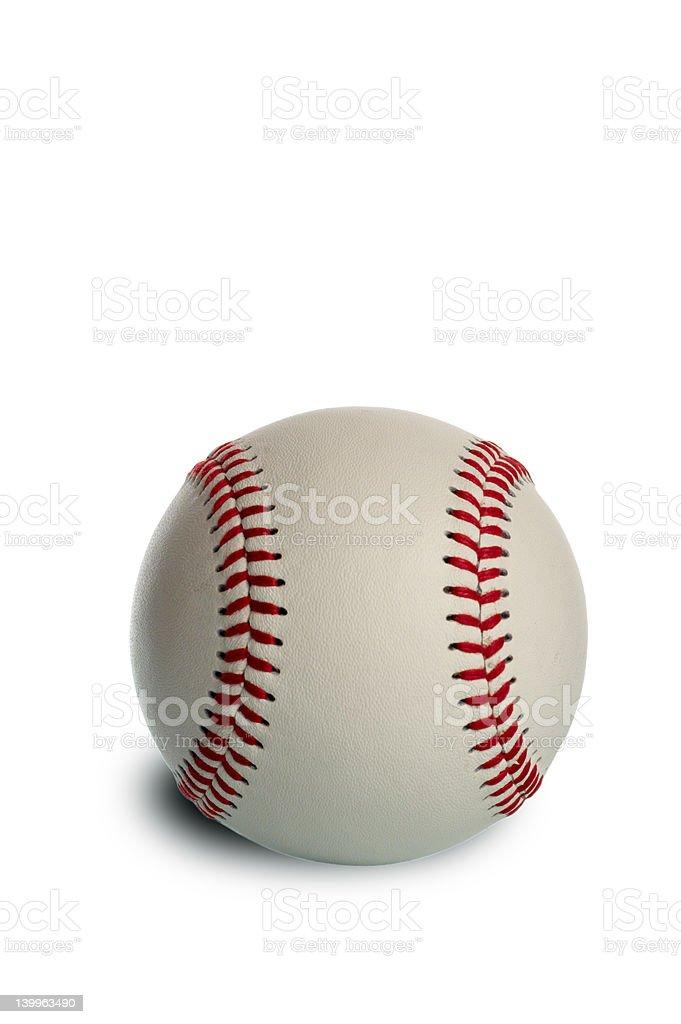 New baseball royalty-free stock photo