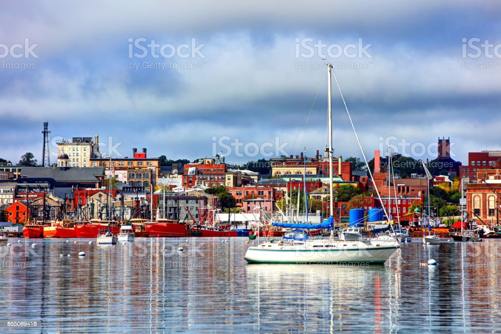 New Bedford, Massachusetts stock photo