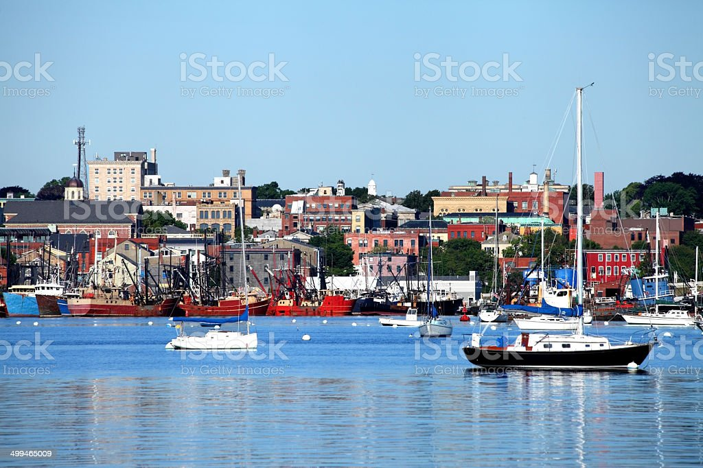 New Bedford stock photo