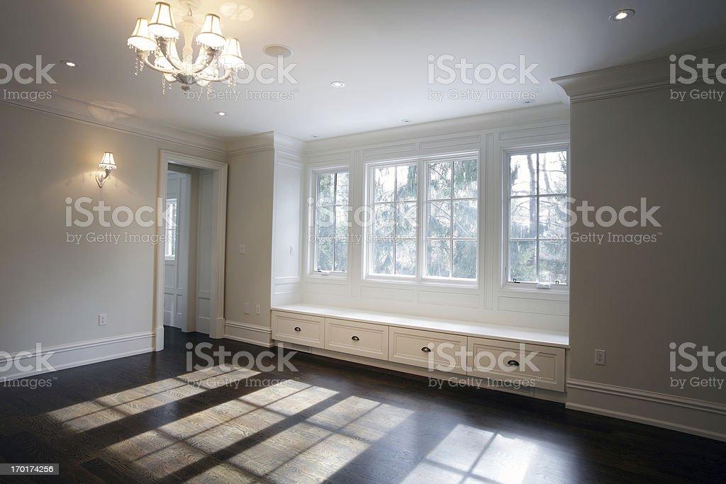 New bedroom stock photo