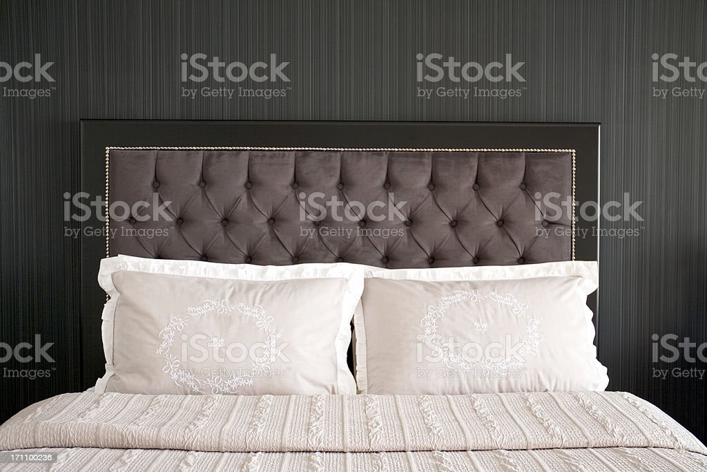 New bedroom stock photo