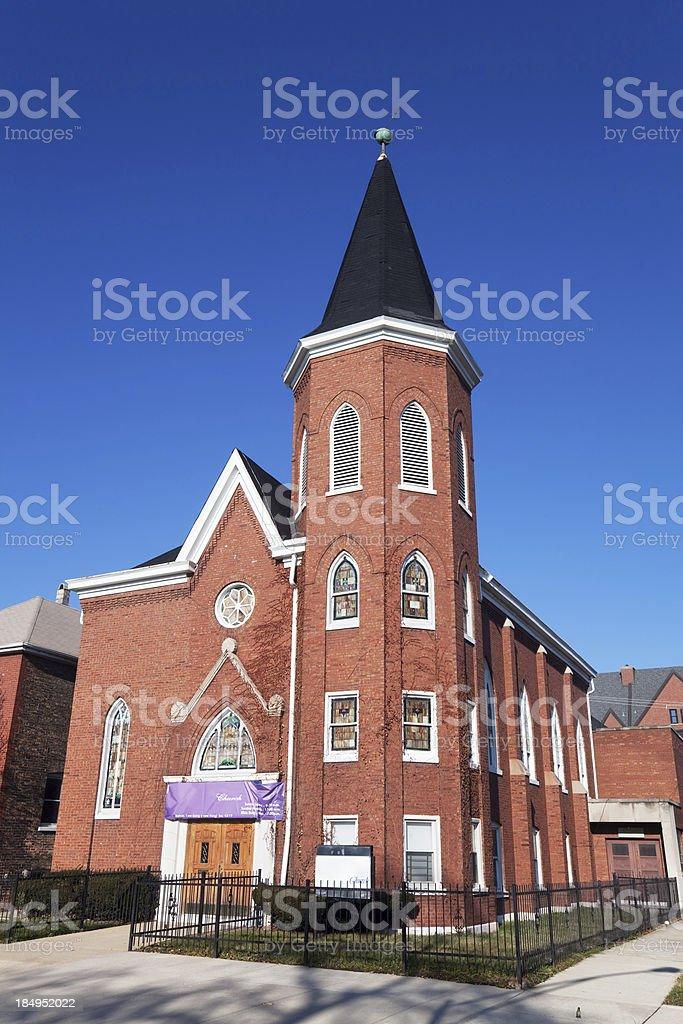 New Beginnings Full Gospel Church in Chatham, Chicago royalty-free stock photo