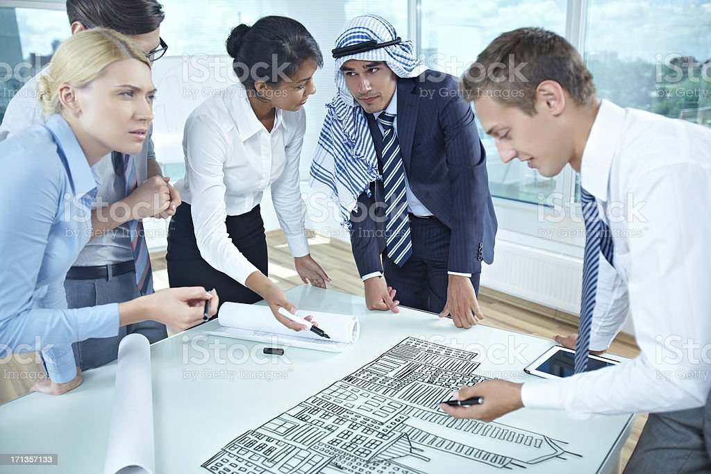 New big project royalty-free stock photo