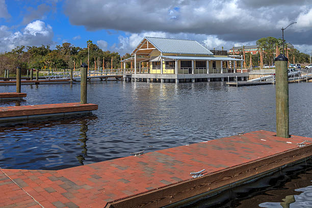 new big toho marina in kissimmee - kissimmee stock photos and pictures