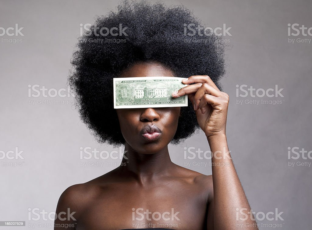 New Bill royalty-free stock photo