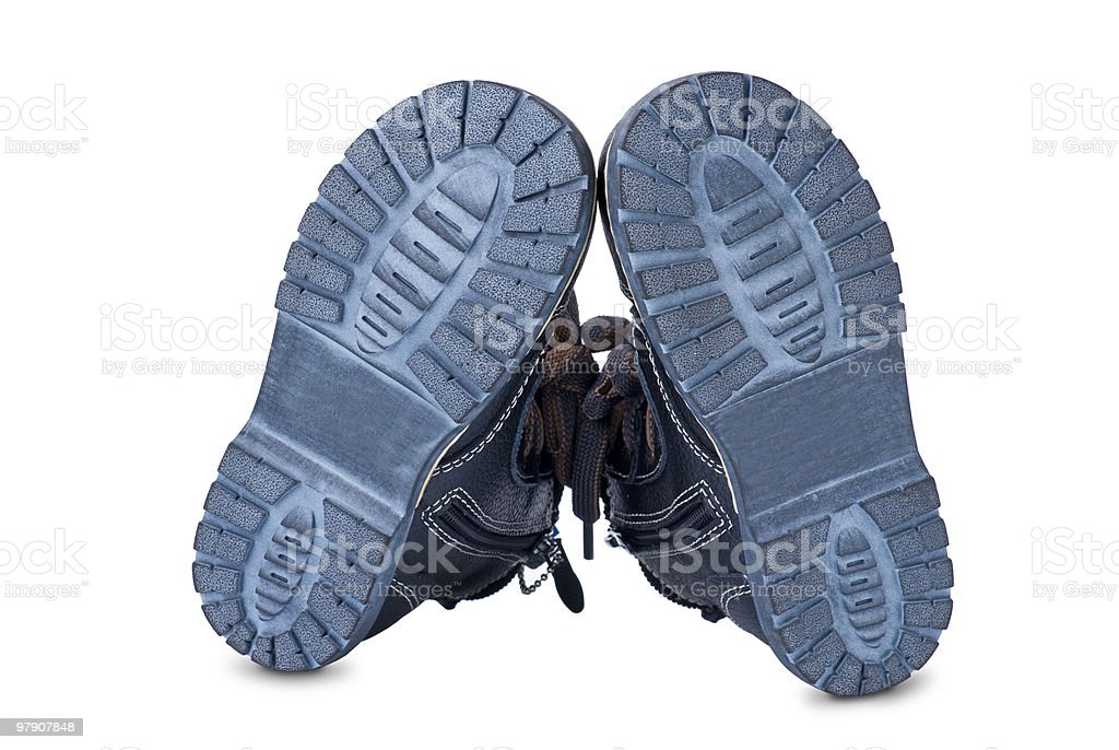 New boots. royalty-free stock photo
