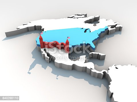 istock New Border Control Strategy of USA 640265110