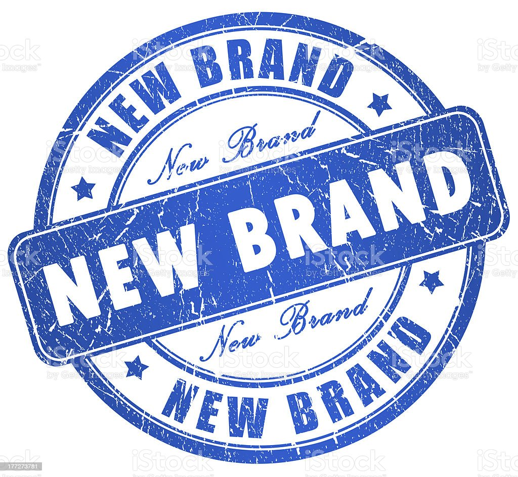 New brand royalty-free stock photo