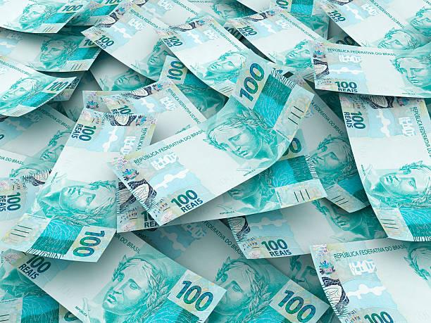 neue brasilianische währung - nummer 100 stock-fotos und bilder