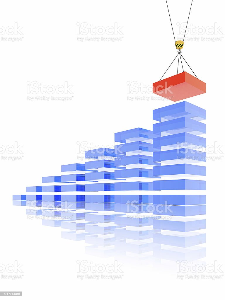 new brick for business royalty-free stock photo