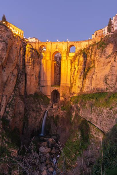 Puente Nuevo en Ronda - foto de stock