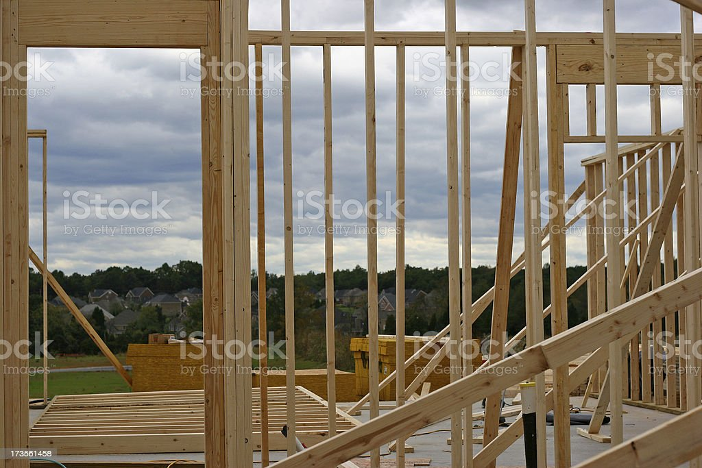 New Build 1 royalty-free stock photo