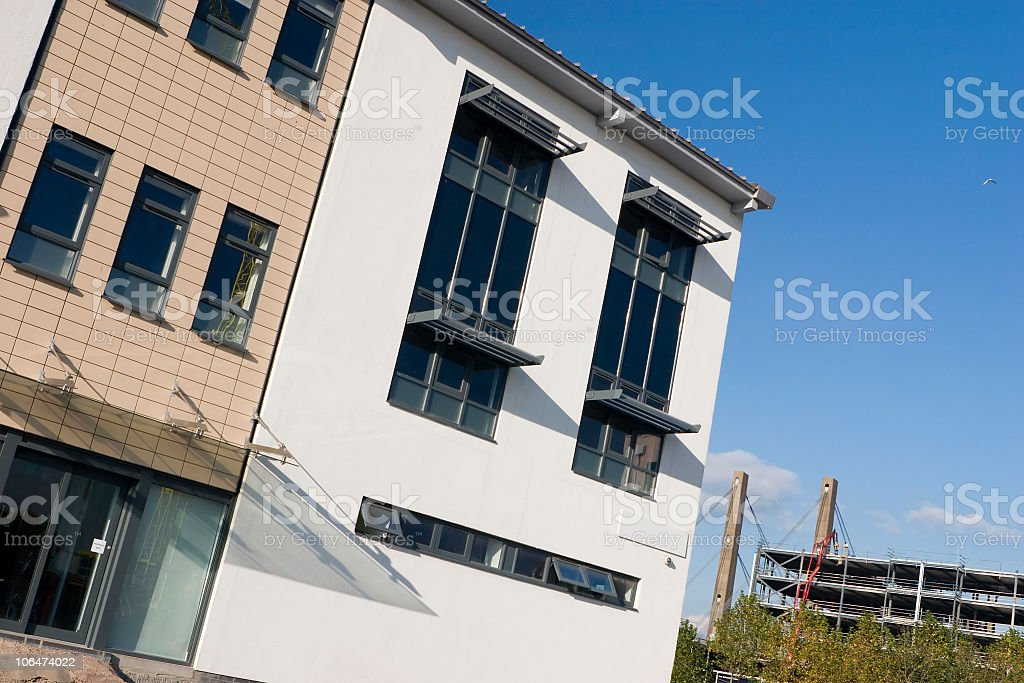new build royalty-free stock photo