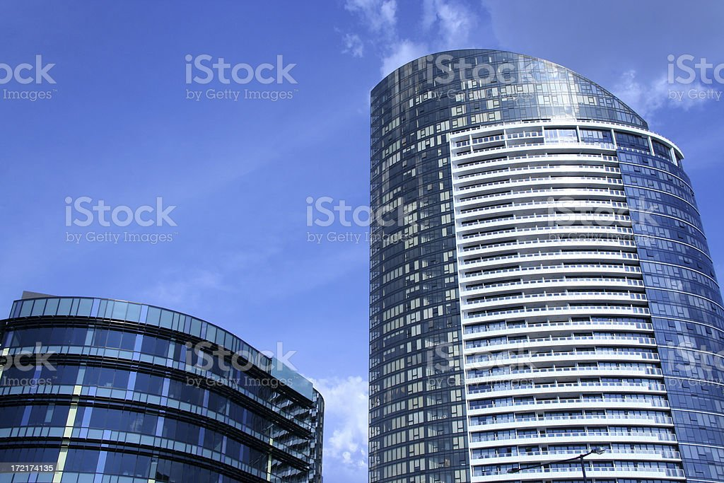 New buildings royalty-free stock photo