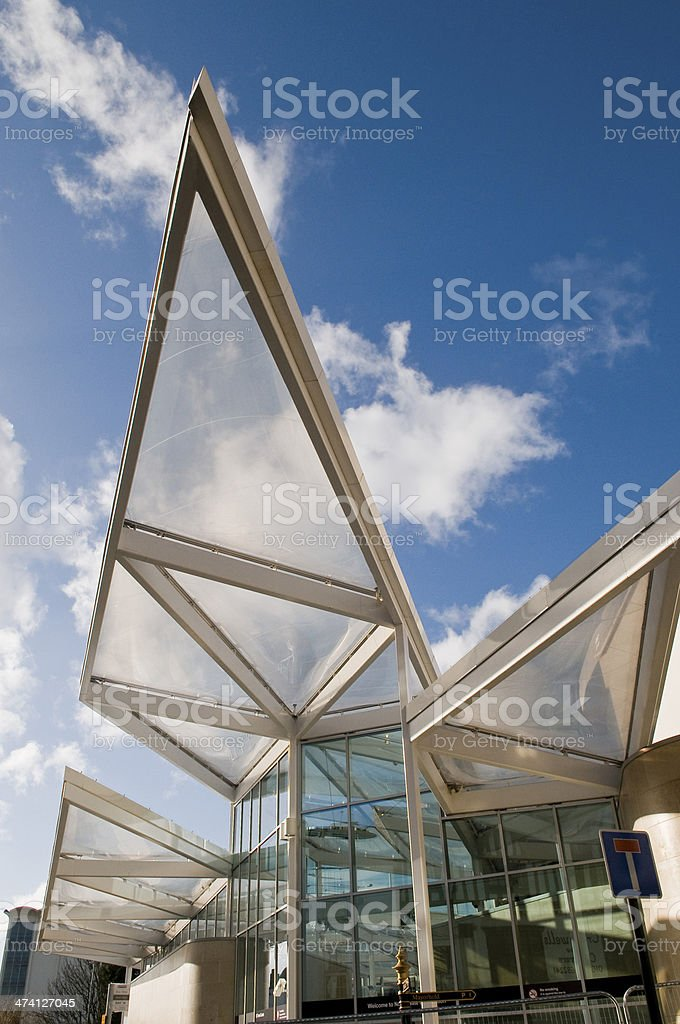 New Bus Station stock photo