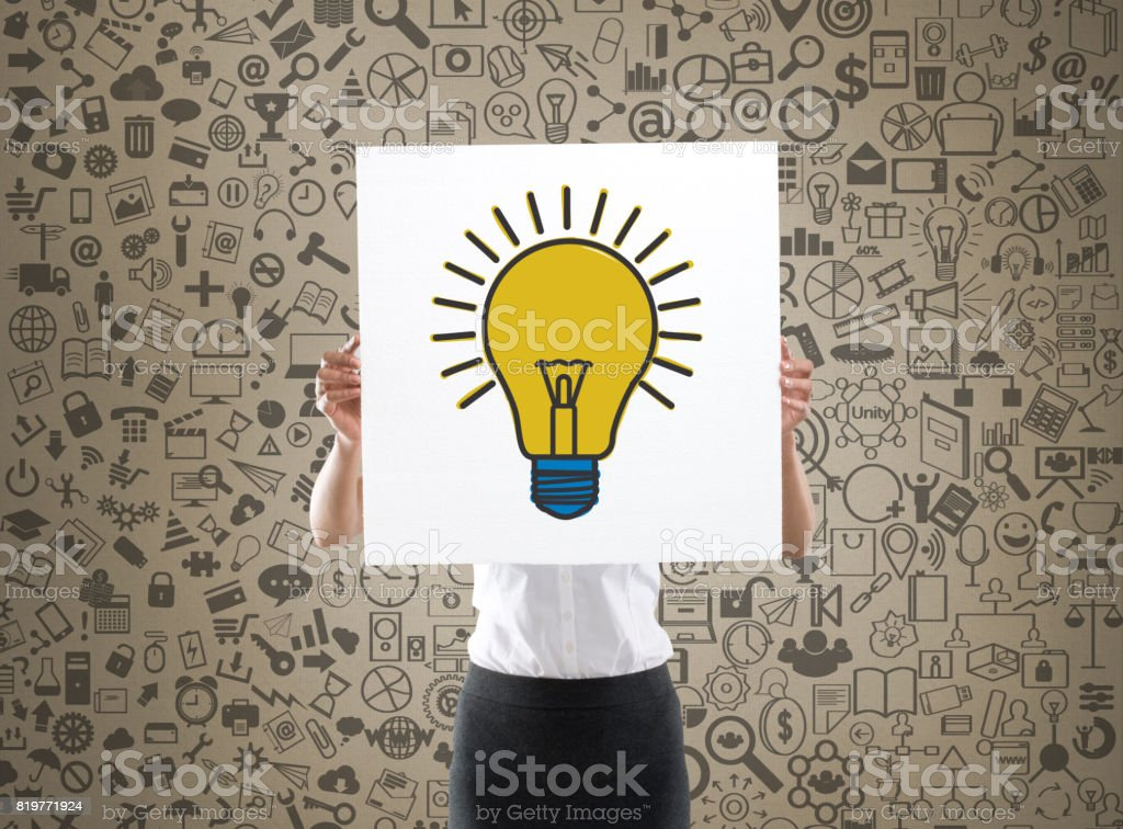 New business idea concept stock photo