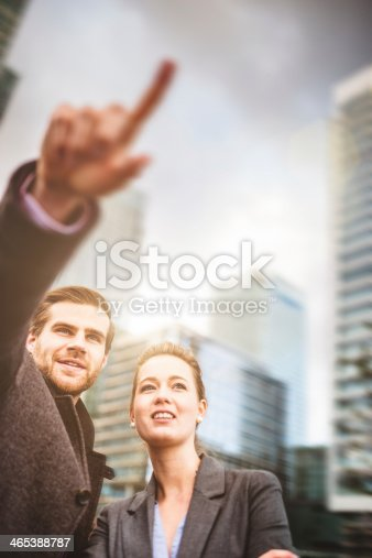 168589045 istock photo New business market at the horizont 465388787