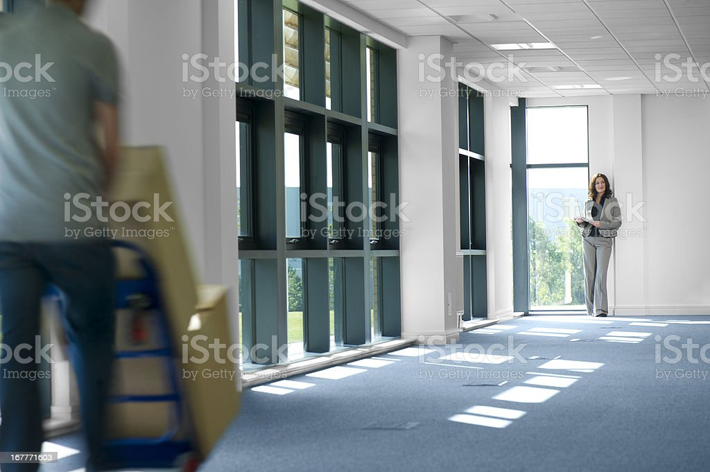new business offices stock photo