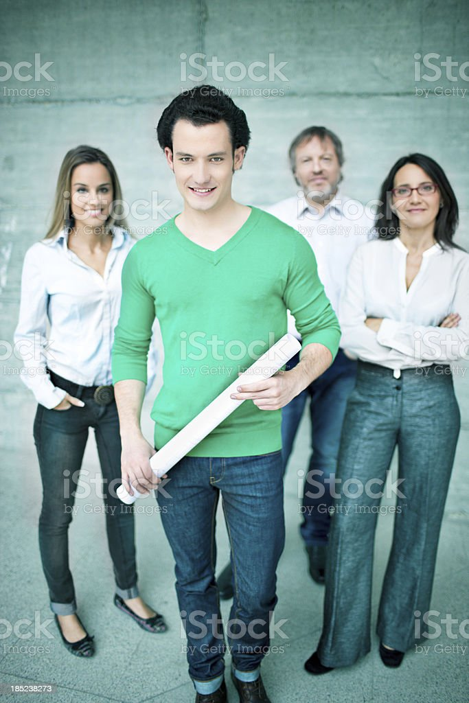 New business team royalty-free stock photo