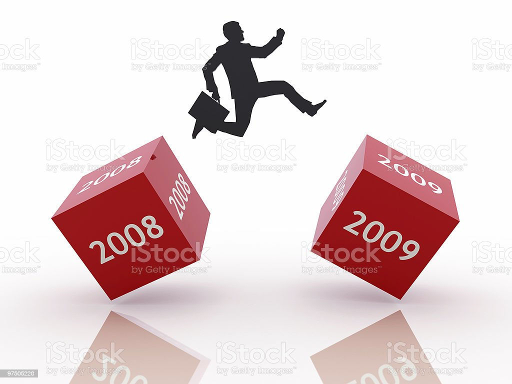 New Business Year stock photo