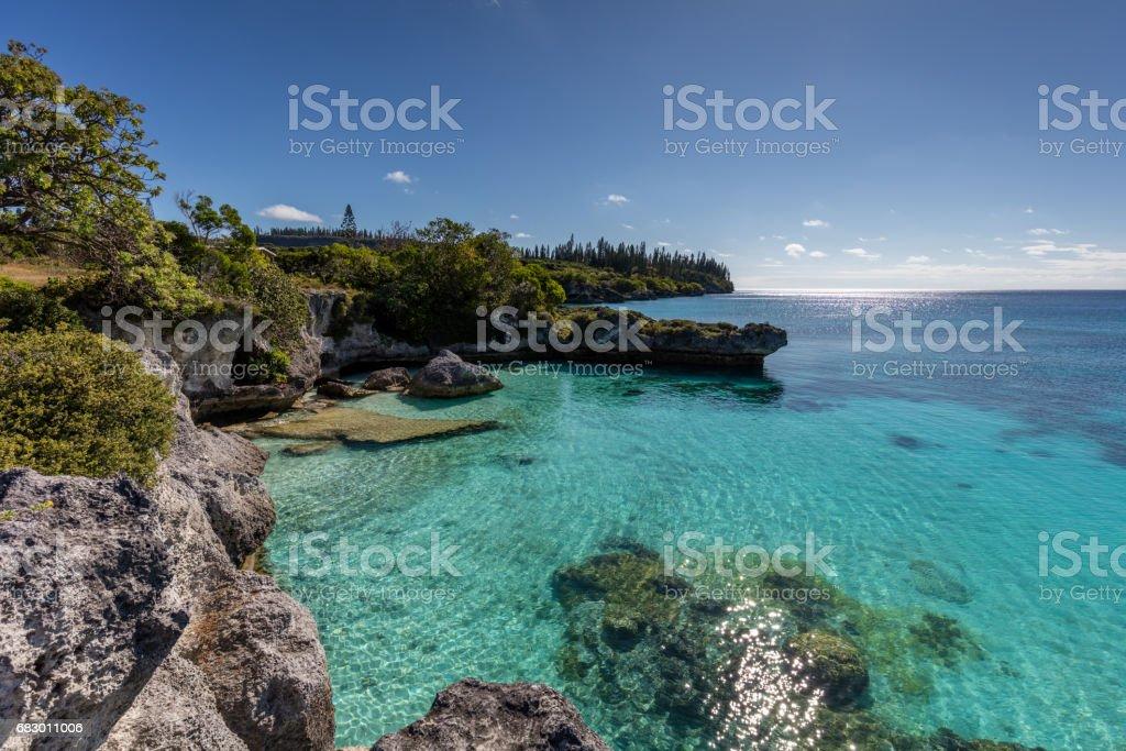 New Caledonia Maré Island Turuoise Lagoon Loyalty Islands