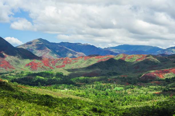 New Caledonia (Mining Industry) stock photo