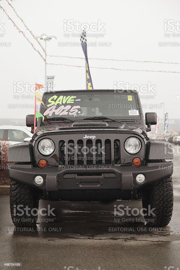 \'Halifax, Nova Scotia Canada - April 22, 2012: New Jeep Wrangler Call...