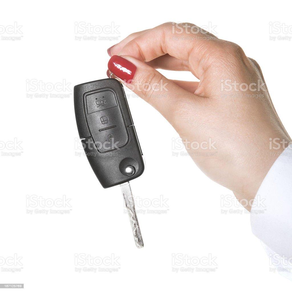 New Car Key royalty-free stock photo